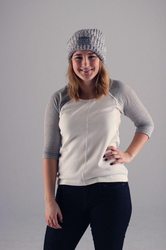 Love Your Melon Navy Speckled Cuffed Hat  08923db8328