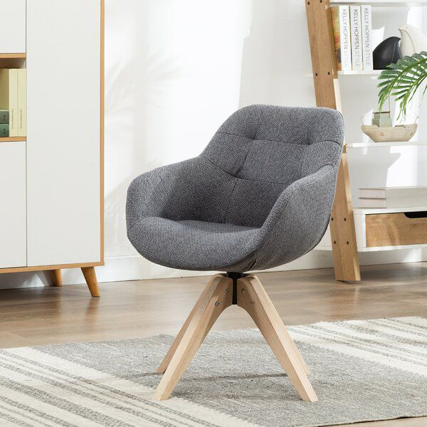 Giacchetto Swivel Armchair Swivel Armchair Fabric Accent Chair Comfy Chairs