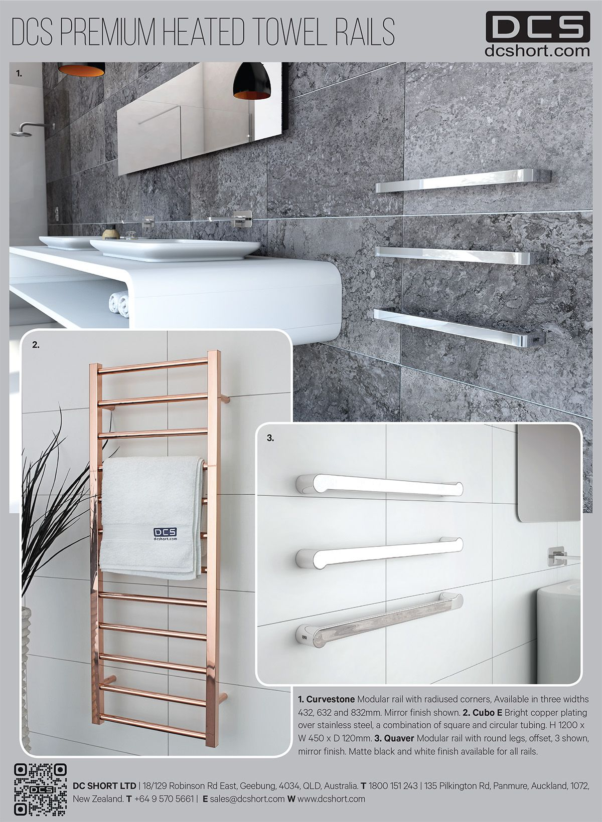 Epoch Times 2015 - DCS Heated Towel Rails.