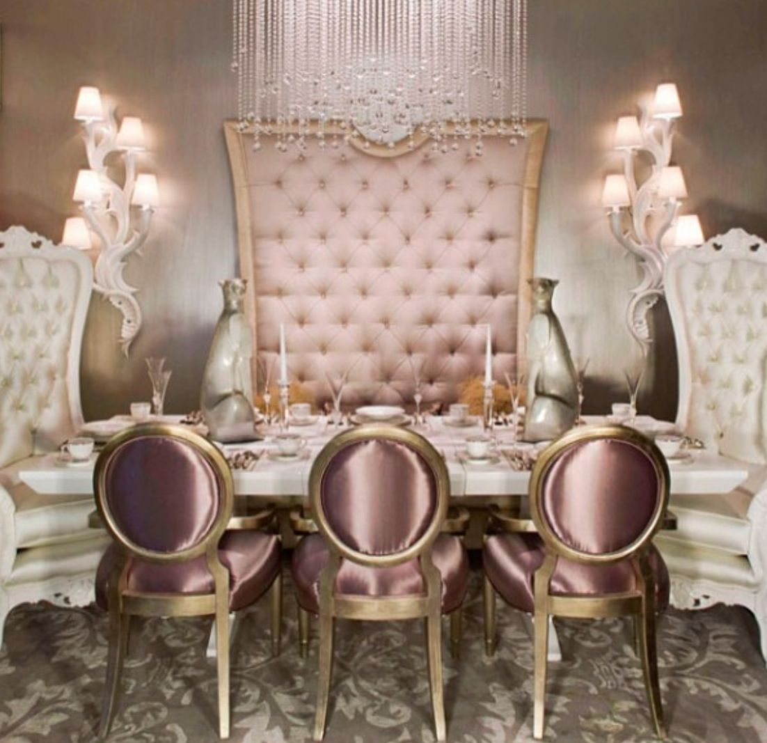 Gorgeous French Provincial dining!!!
