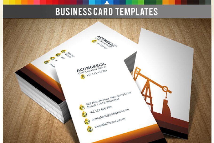 Premium Business Card Oil Gas Co Premium Business Cards Oil And Gas Business Cards