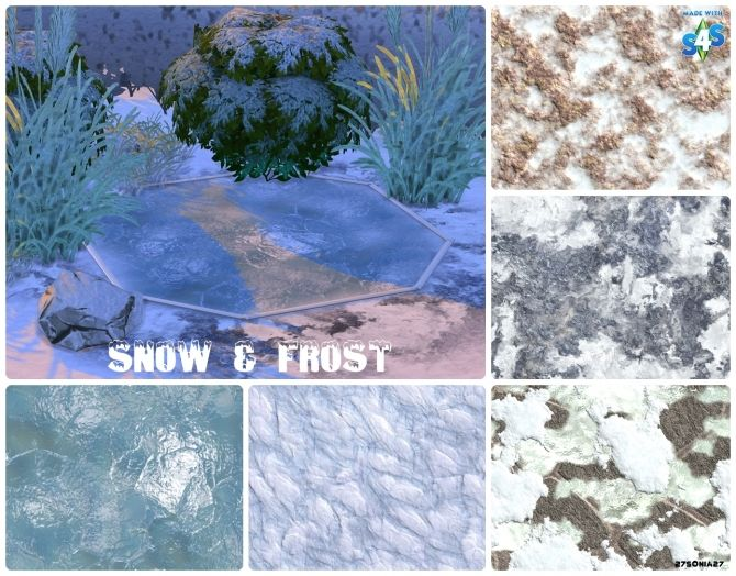 snow frost terrain paints at 27sonia27 via sims 4 updates sims 4