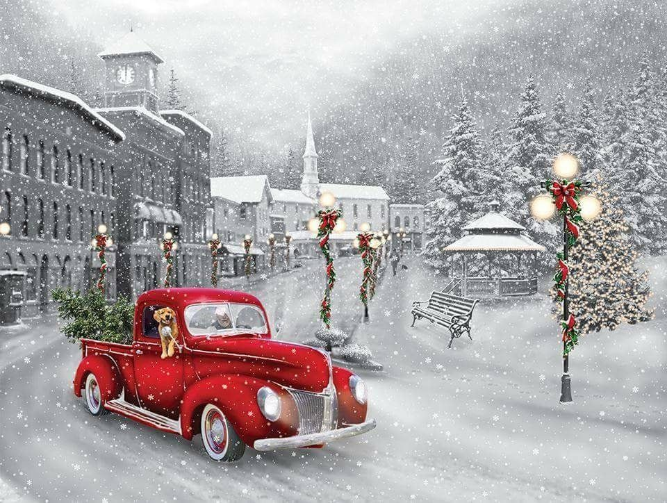 Pin by Kim Mitchell on Holidays Christmas scenery
