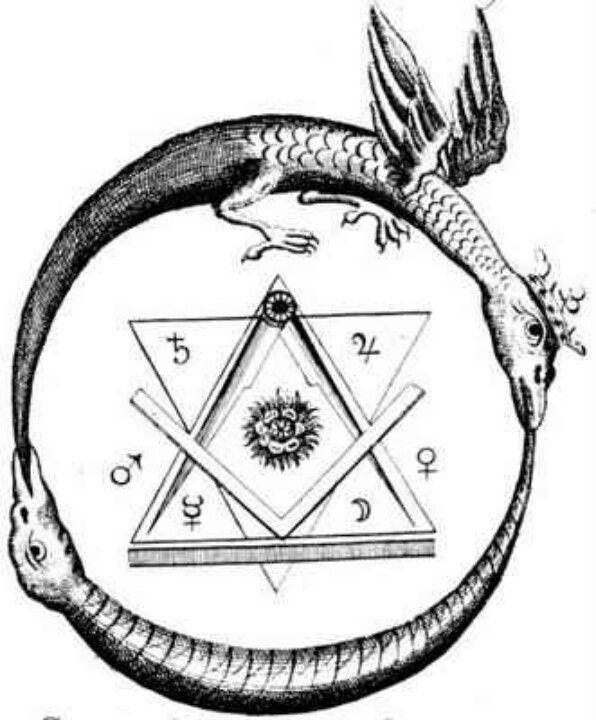 Unusual Masonic Alchemical Seal Ancient Secrets Modern Thought