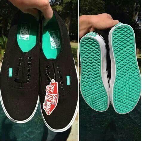 vans mujer zapatillas verde agua