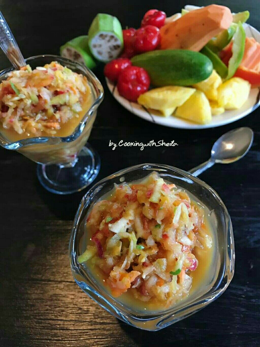 Rujak Gobet Makanan Resep
