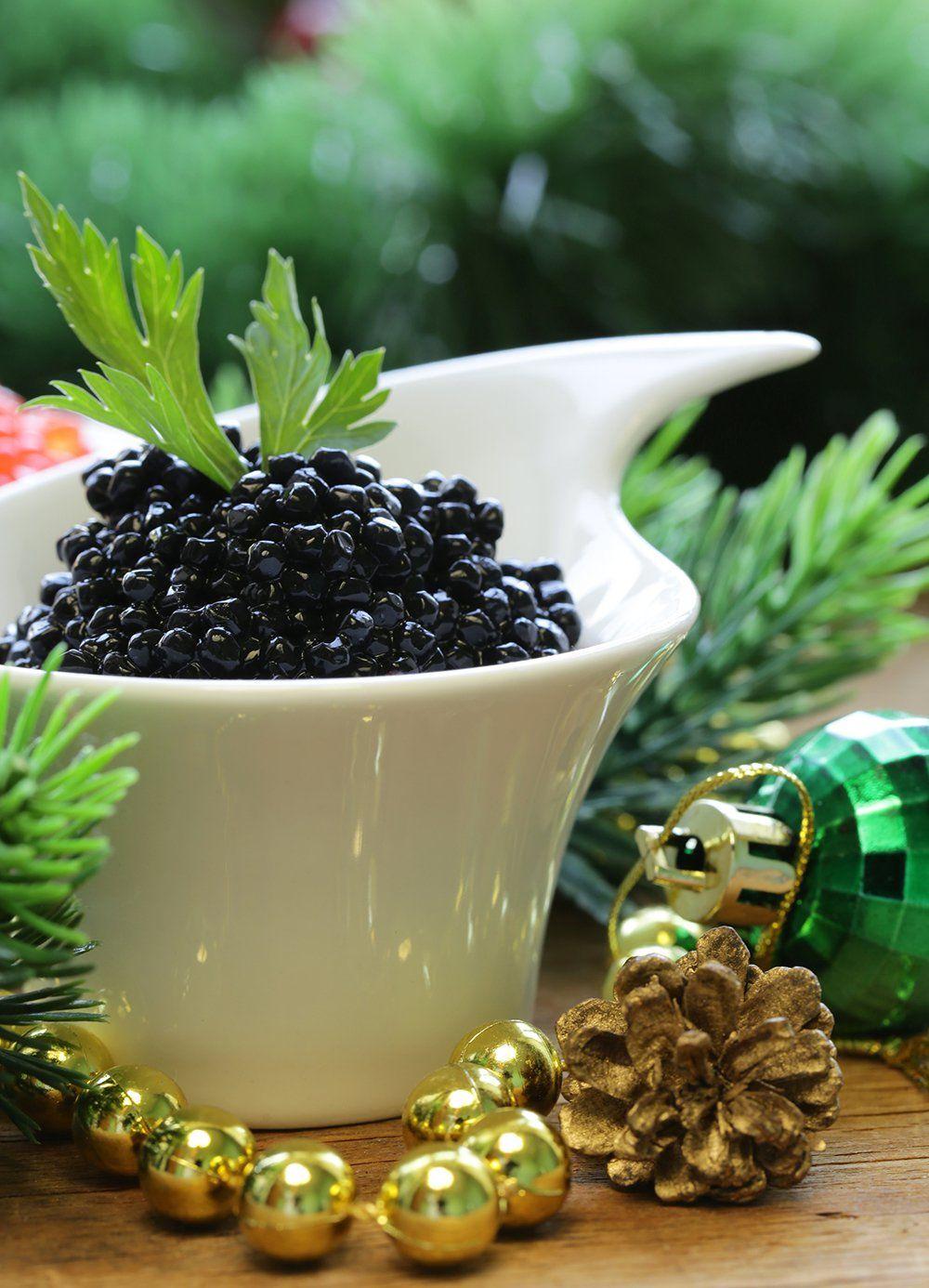 15 recettes de Noël autour du caviar Creme de choux