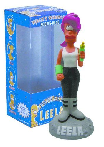 Futurama Leela Bobble Head Figure http://popvinyl.net #funko #funkopop #popvinyls