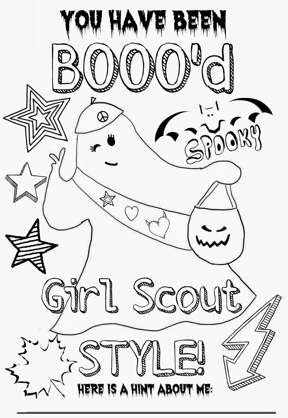 Muraco Girl Scout Troop 65235: You have been BOOO'd