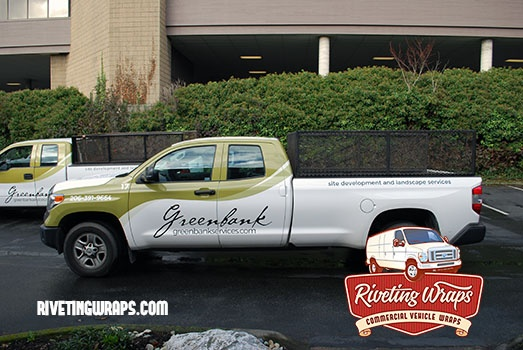 Tundra Truck Graphics For Seattle Landscaping Business Vehicle Signage Truck Graphics Fleet
