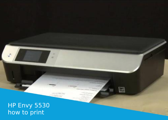Solution on how to print 4x6 photos on HP Envy 5530 printer, print