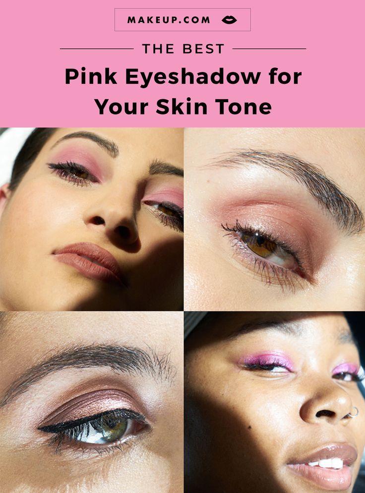 Best pink eyeshadow for your skin tones eyeshadow pink