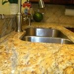 Beautiful Yellow River Granite Countertops in Worcester, MA | The Stone Cobblers