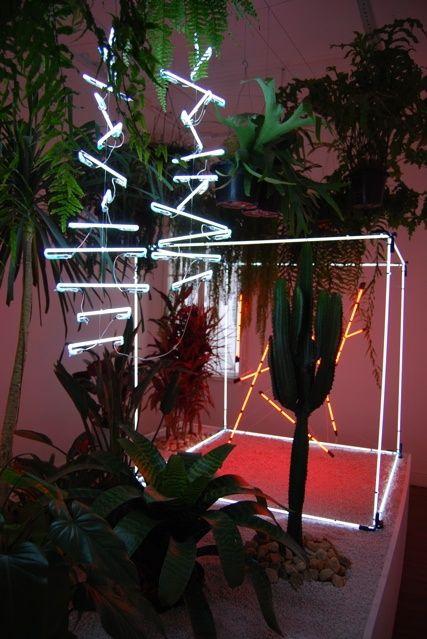 Bada Bing Montreux Jazz Festival Boardwalk: Neon + Tropical. @thecoveteur