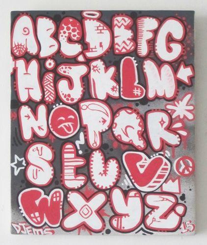 Ab c daire by jamesgraffiste ab c daire graff lille letras lettrage graffiti - Lettre graffiti modele ...