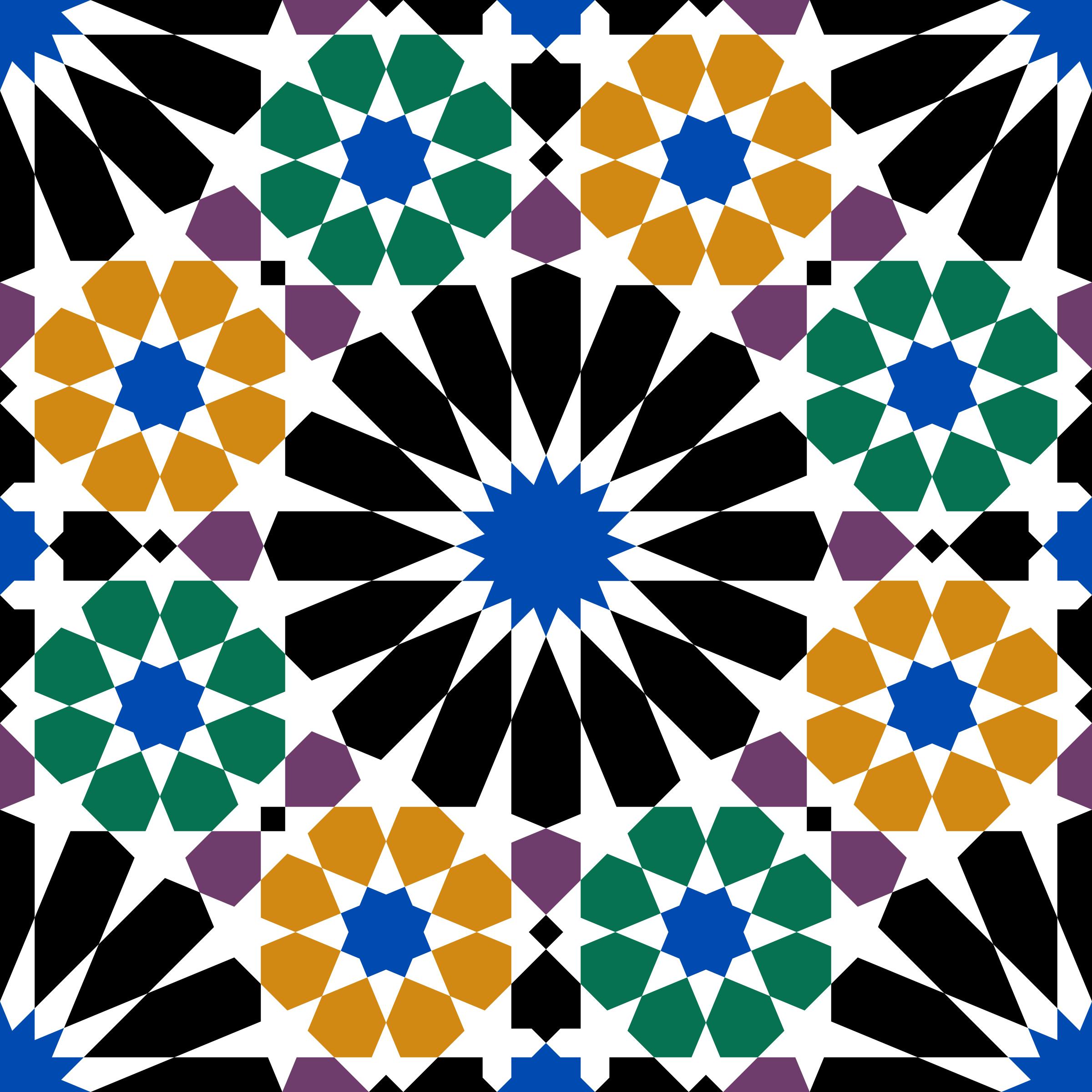 Patr n rabe con el dise o de los azulejos del cartillo de for El mundo de los azulejos