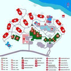 Memories Flamenco Beach Resort Map Map Layout Memories Flamenco Beach Resort | trips | Beach resorts  Memories Flamenco Beach Resort Map