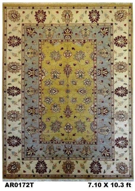 Latest arrival @ #AbeeRugs  #Superfine #Indo #Vegi with #double #borders. Very nicely #weaver to give an #harmony feel to your floor.  Visit our webpage http://abeerugs.com/Superfine-Indo-Vegi-Carpet-Indo-Rugs-Double-Border-Design-Yellow-Grey-and-white-Carpet-AR0172T?search=ar0172 for more details & more #choice of #similar #carpets with #extraordinary #designs each gives your home a #unique #look of its own.