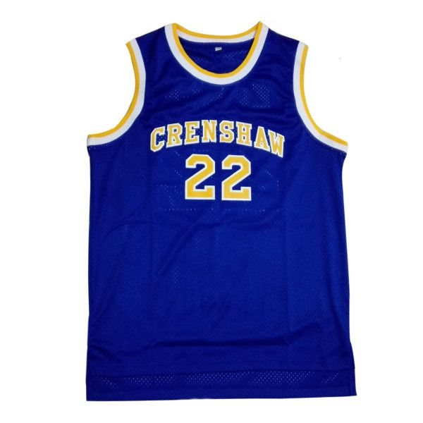 2a74b8a64873 Quincy McCall Jersey is the Crenshaw High School  22 white basketball jersey  in the Movie Love and Basketball. The jersey is available on Amazon