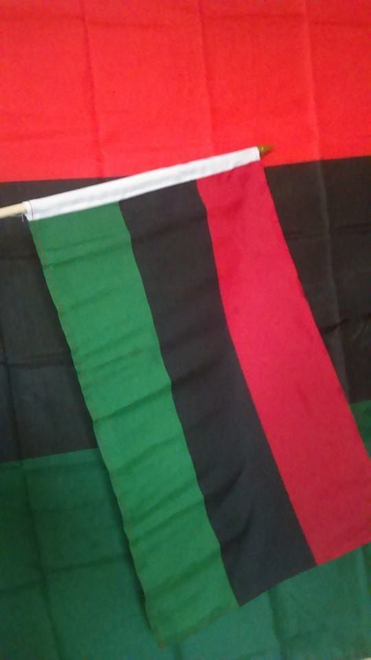 2 Rbg Flags Large And Medium Black Pride Rbg Afrocentric Decor