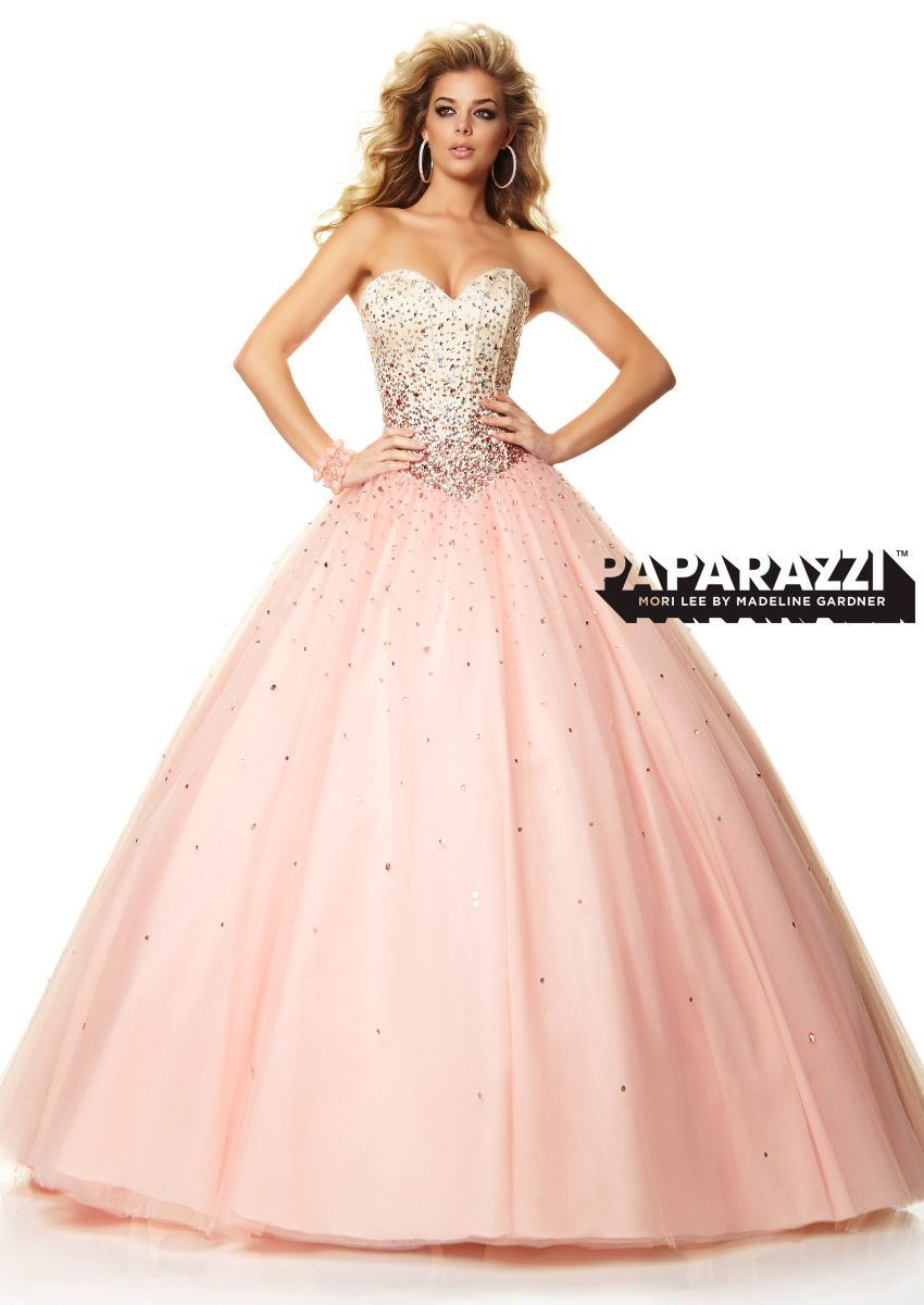 Prom Dresses – Paparazzi Prom Dress perfect ballgown for Quincenera ...