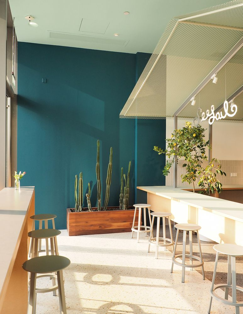 Gallery of seesaw coffee shenzhen mixc nota architects terrazzo cafe bistro bar also best images in rh pinterest