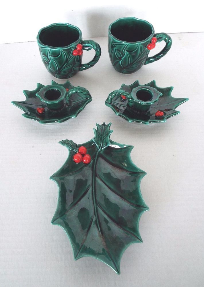 Found site vintage lefton holiday pottery similar. remarkable