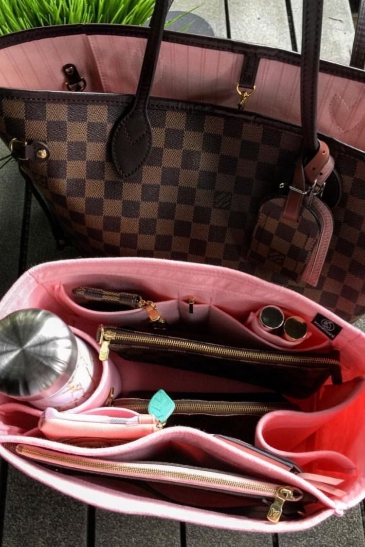 bb8bbe8fc237 Perfect organizer for your Louis Vuitton Neverfull! Check out www.zoomoni.com  to get your organizer today! 😍