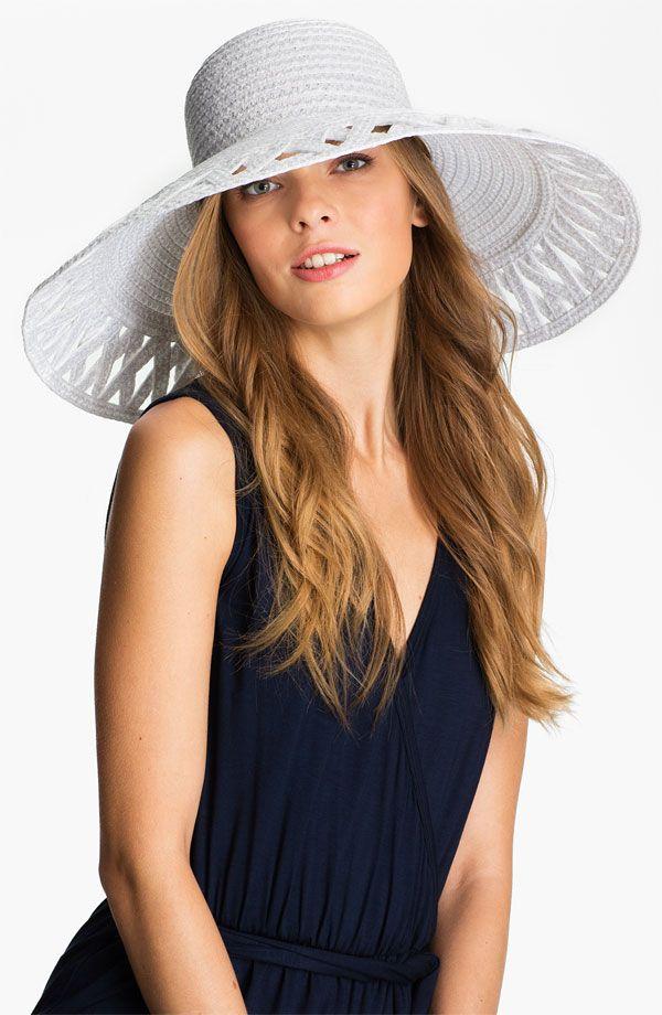 170bd94c6f454 ERIC JAVITS Maribel Sun Hat White  250