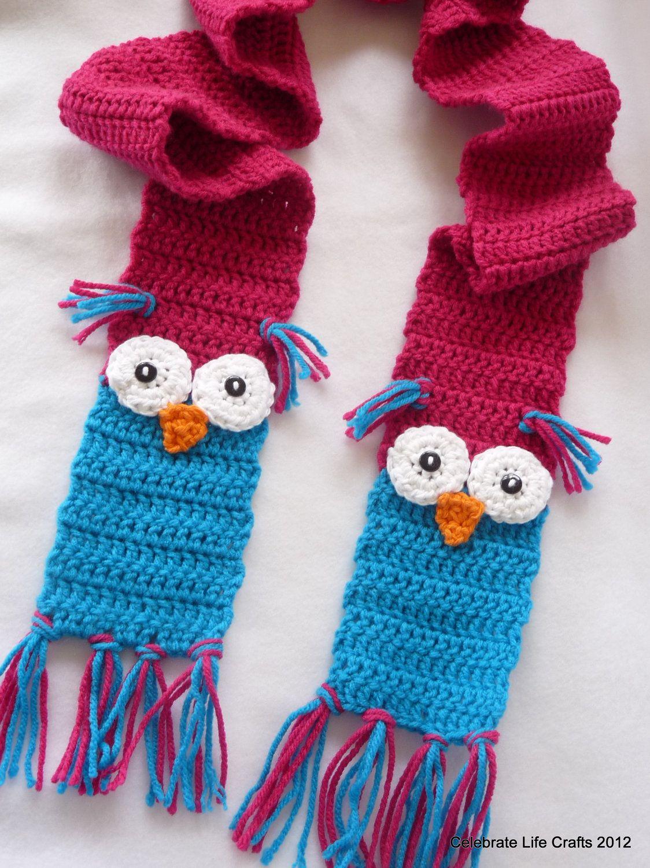 Crochet+Childrens+Scarf | ... Adult by CelebrateLifeCrafts Crochet ...