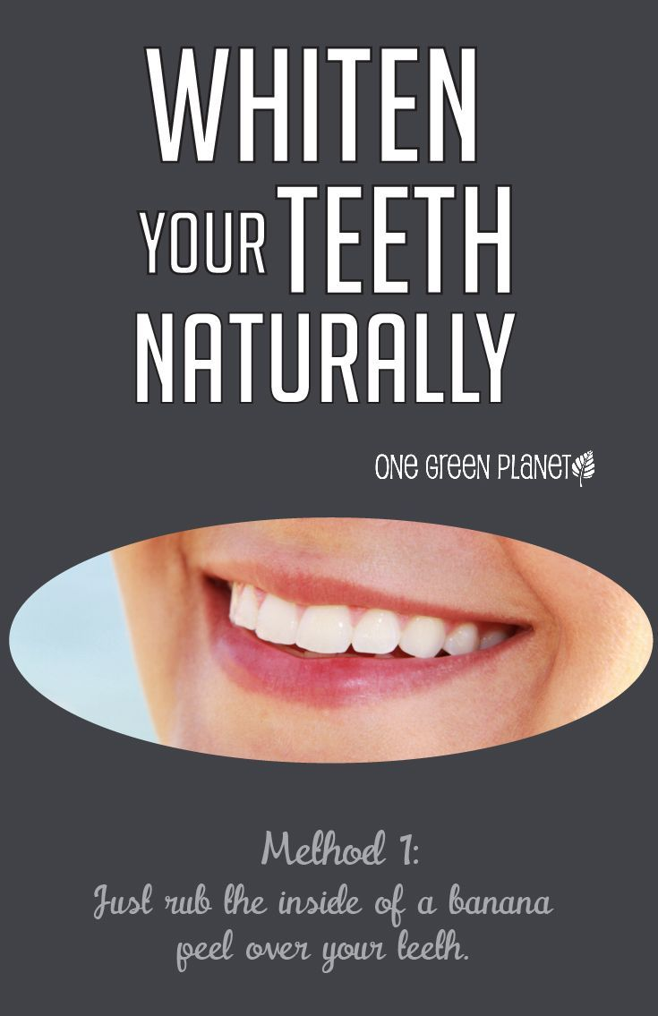 Skip the teeth whitening products and try these natural methods