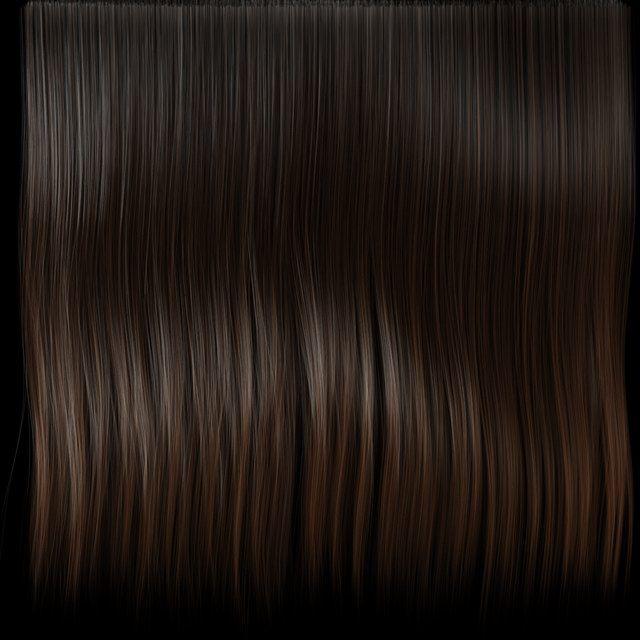 Dark Hair | 3d キャラクター, テクスチャ, 3d モデル