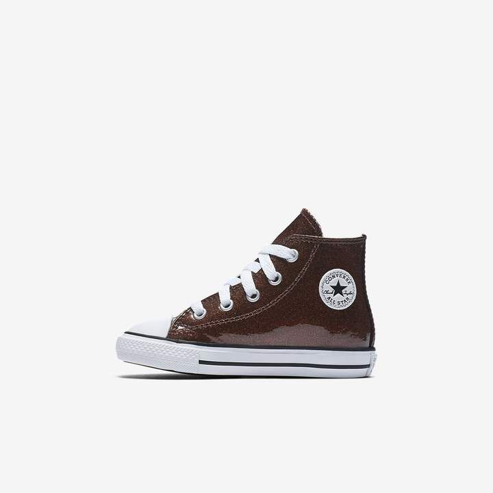165587fc73b4 Converse Chuck Taylor All Star Autumn Glitter High Top Infants Shoe ...