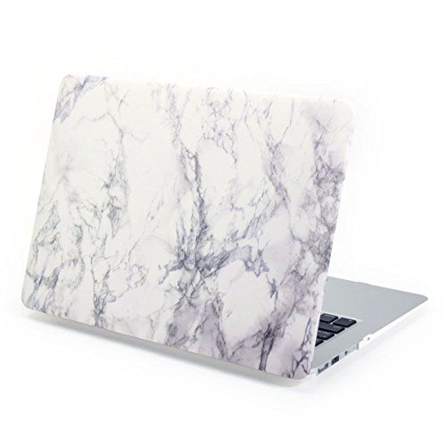 Kright 174 Macbook Pro 15 Retina Case White Marble Pattern
