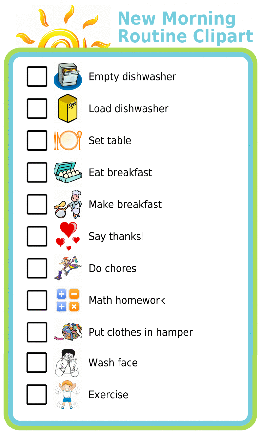 Make Your Own List Mobile Or Printed In