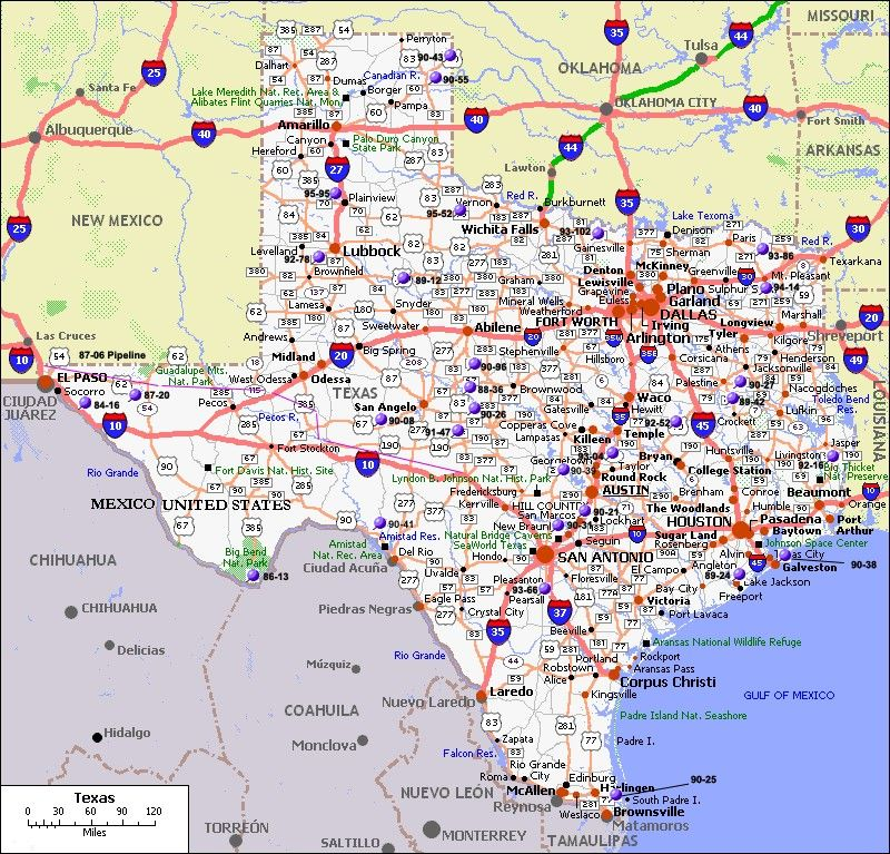 Pin By Mark Caruth On Ideas Texas Map With Cities Texas Map
