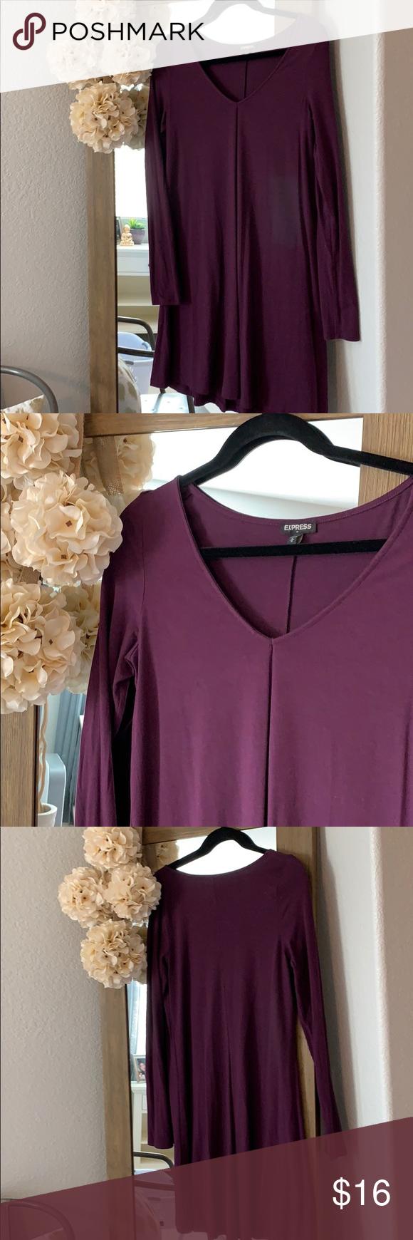 Express spandex long sleeves dress my posh closet pinterest
