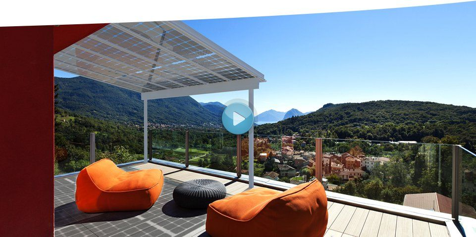 Wow! Tolle Idee für die Terrassenüberdachung -   www