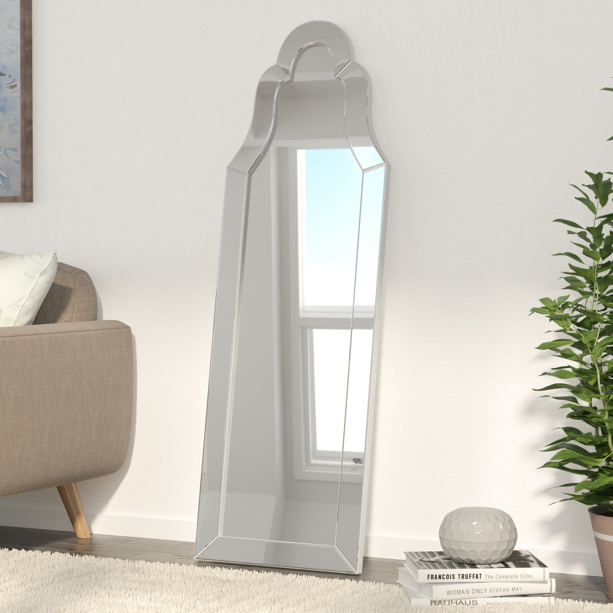 Lawson Arched Floor Mirror   Products   Pinterest   Floor mirrors ...