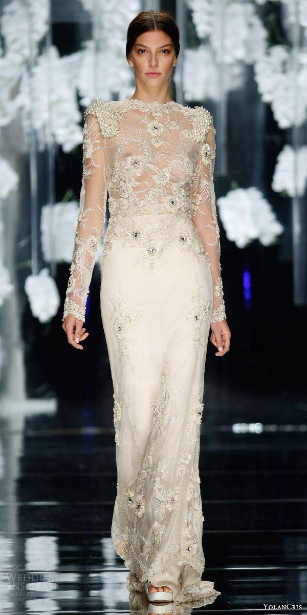 YolanCris 2016 Wedding Dresses — Orchid Bridal Collection   2016 ...
