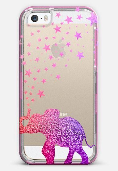 CRYSTAL GLITTER GATSBY ELEPHANT iPhone 6 case by Monika Strigel | Casetify