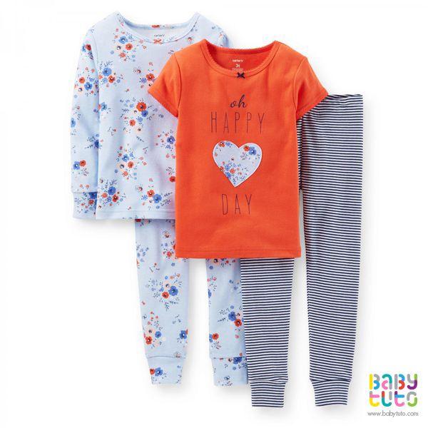bc55dd02c Set 2 pijamas diseño mixto - 330-605   Carter s