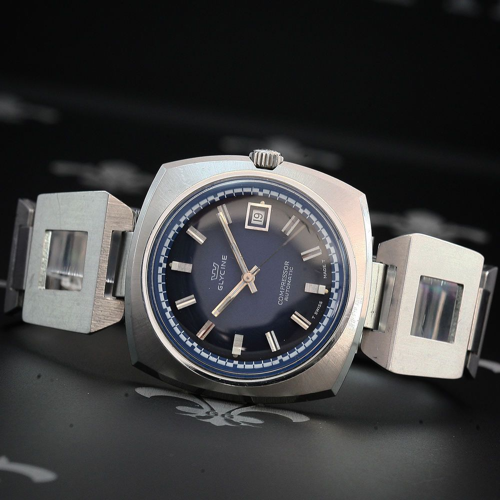 glycine compressor Google 搜尋 in 2020 Vintage watches