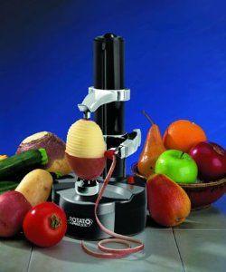 Obstschäler Kartoffel Elektroschäler Gemüseschäler Edelstahl ED