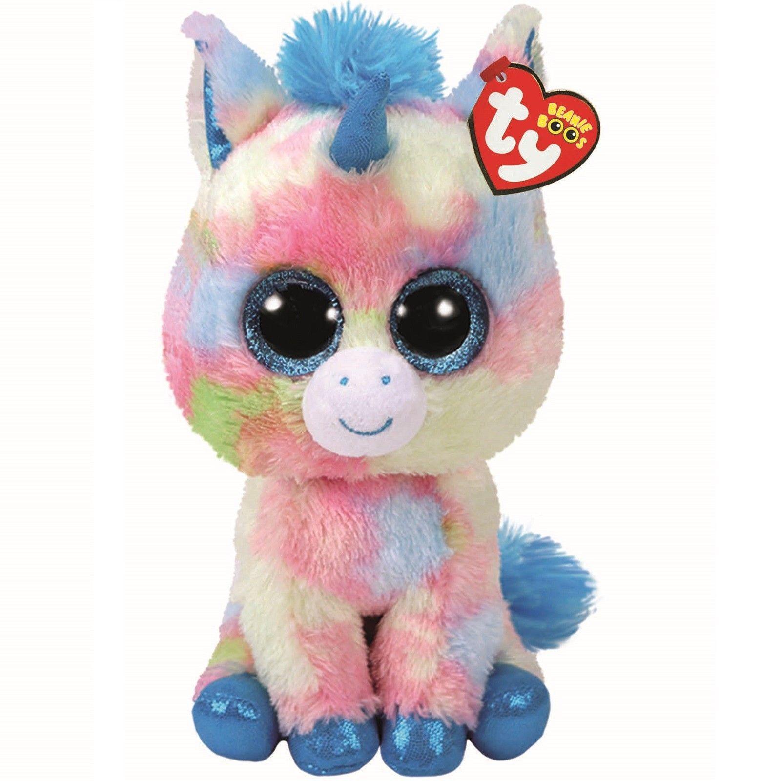 731addcb3ed £9.95 GBP - Ty Beanie Babies Boos 37261 Blitz The Blue Unicorn Boo Buddy   ebay  Collectibles