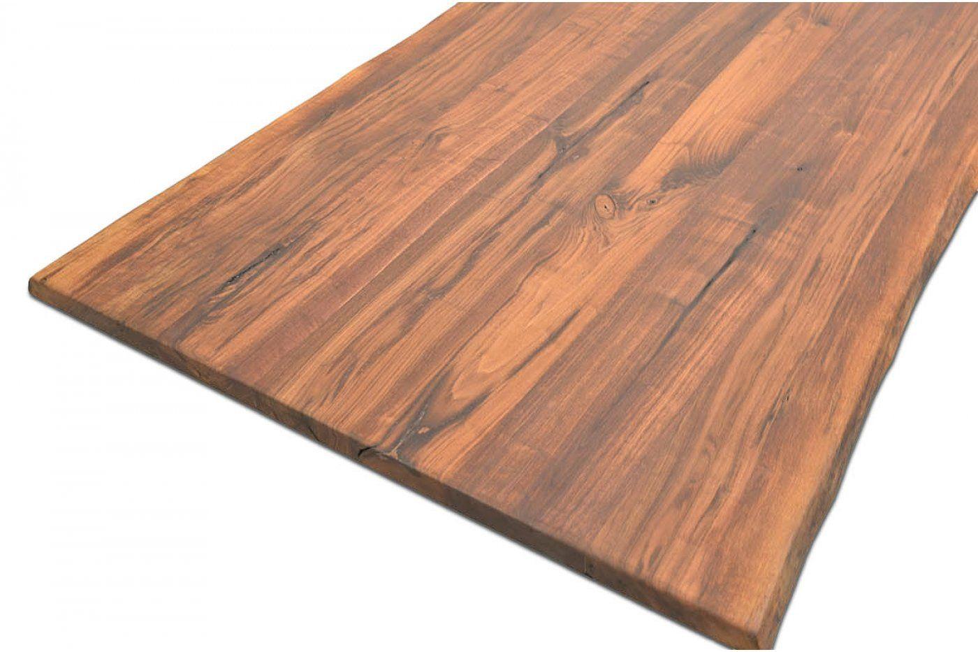 Nussbaum Tischplatte Massiv Nach Mass Baumkante Astfrei Nussbaum Baum Nuss