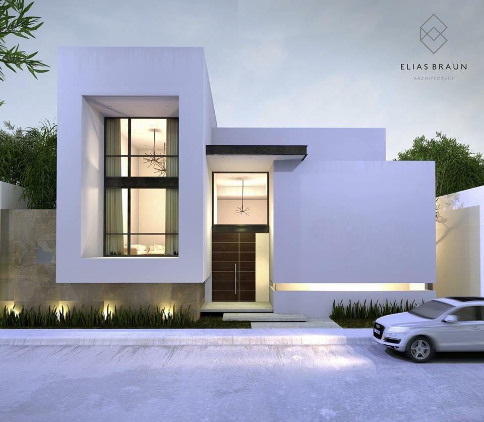 新築住宅の外観アイディア10選 箱型なナウトレンドデザイン: Arquitetura, Arquitetura Moderna
