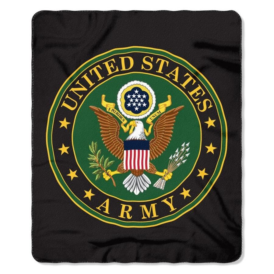 The Northwest Company Us Military Multi 60 In W Polyester Throw Nw 06432 In 2020 Polyester Throws North West Military