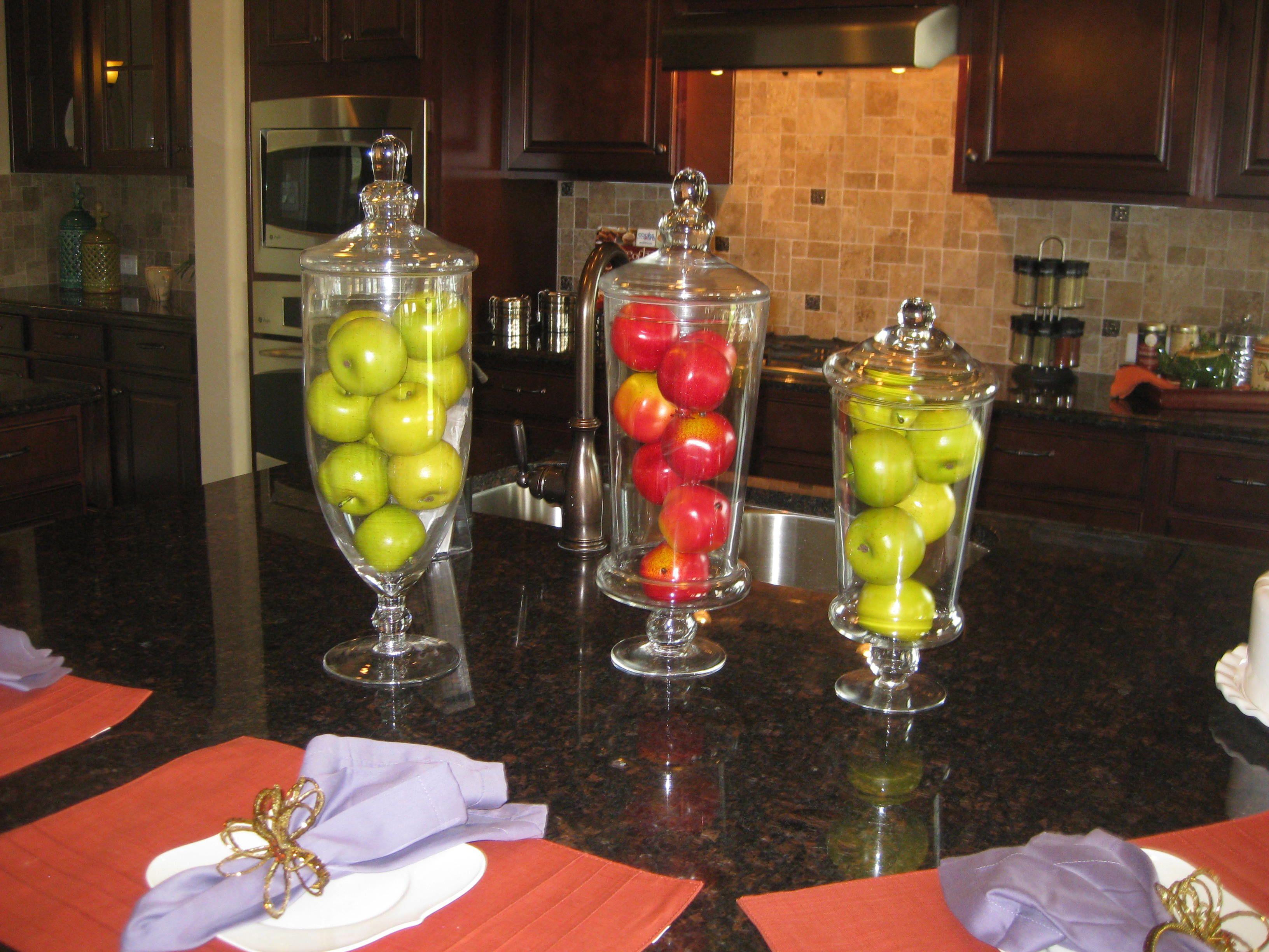 Fruit vases decorating pinterest vases decor - Kitchen curtains with fruit design ...