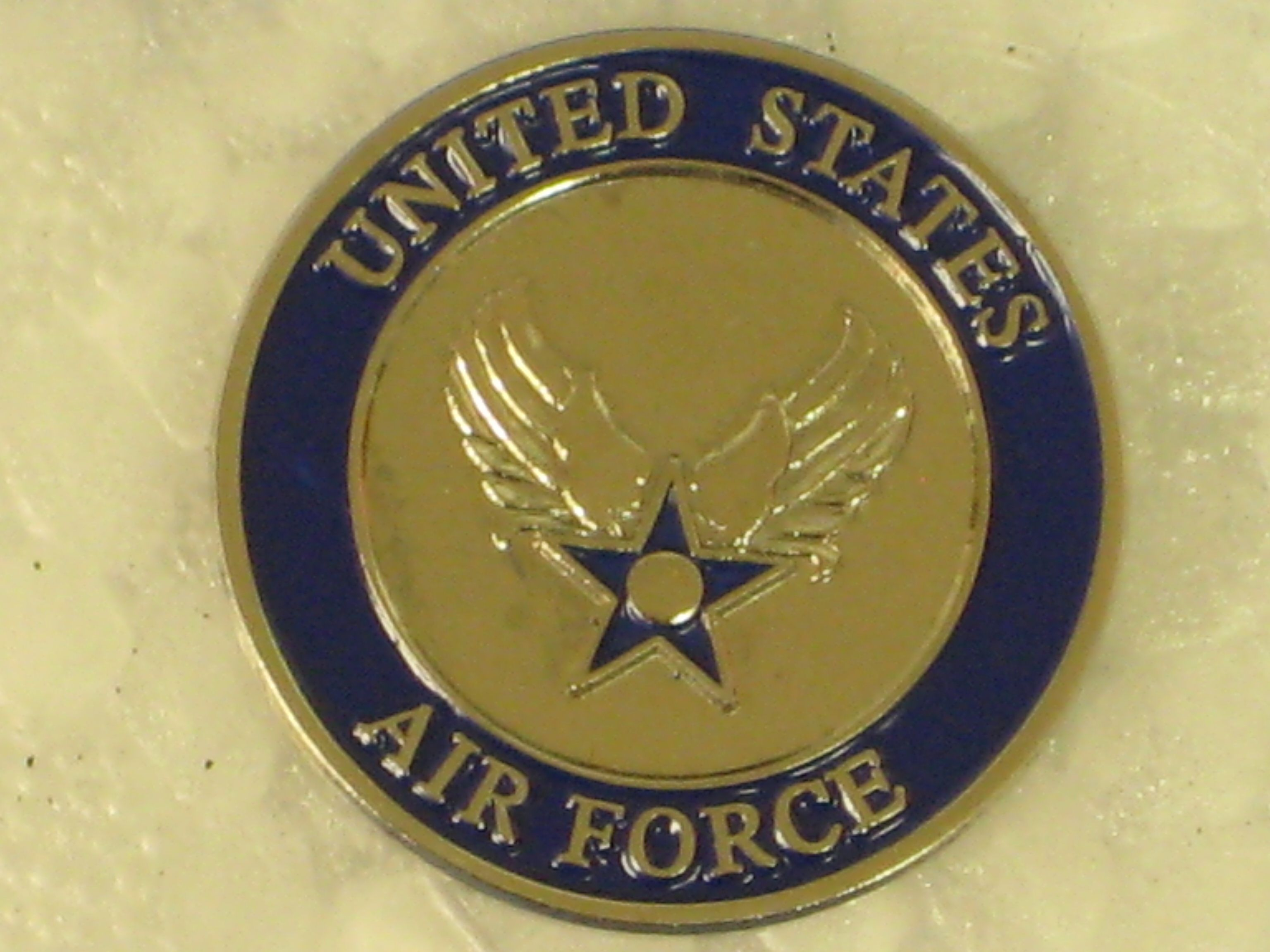 Airman pin these pins pinterest air force military and united usaf united states air force crest military hat lapel pin brand new publicscrutiny Choice Image
